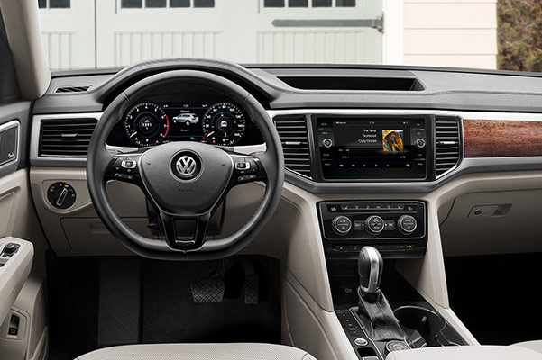 2019 Volkswagen Atlas Specs, Safety & Performance