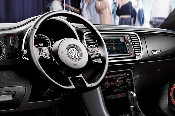 2019 Volkswagen Beetle Interior Features & Technology