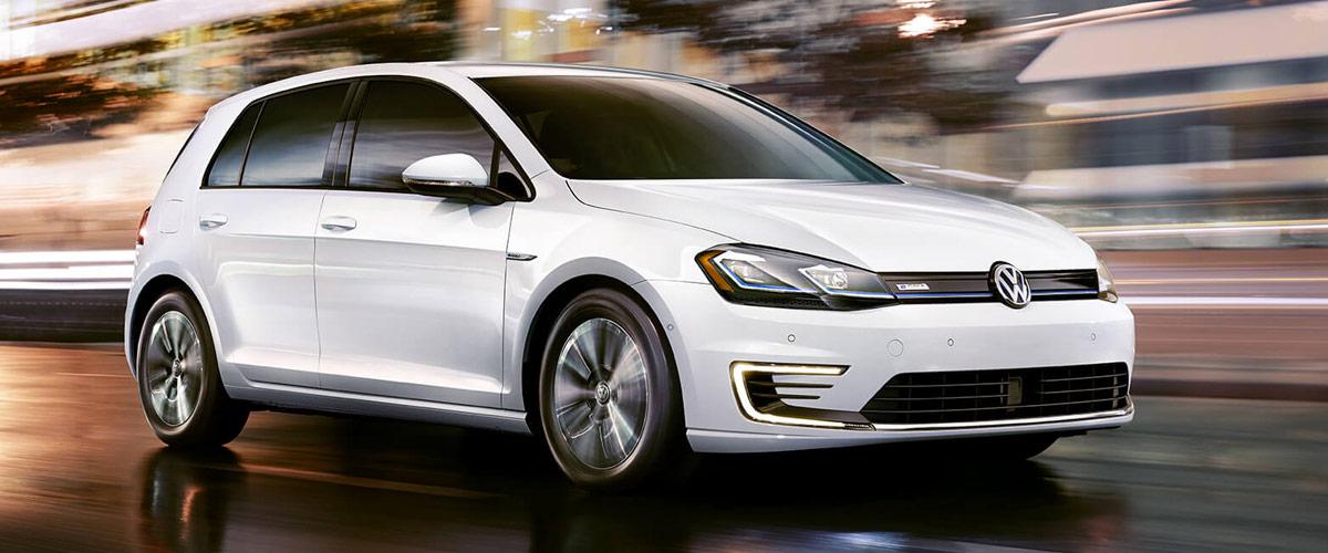 2019 Volkswagen e-Golf header