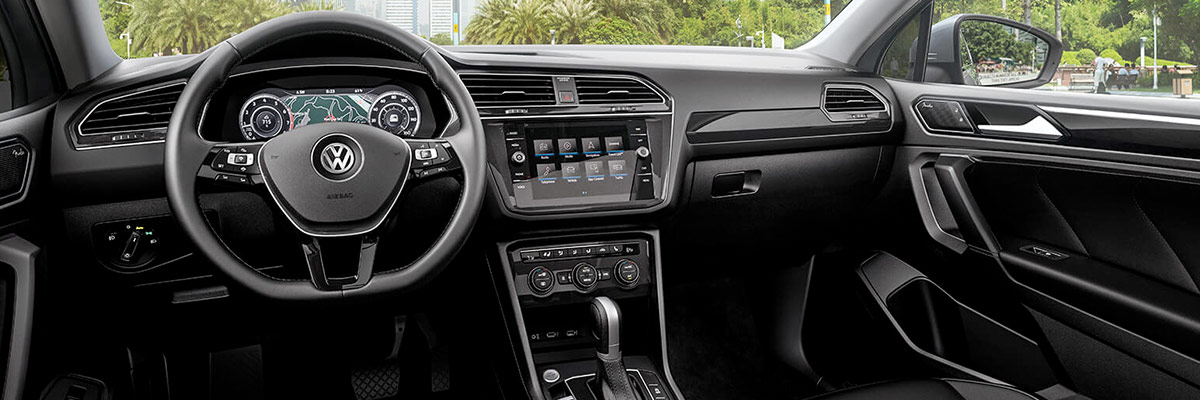 2019 Volkswagen Tiguan Interior Features & Technology