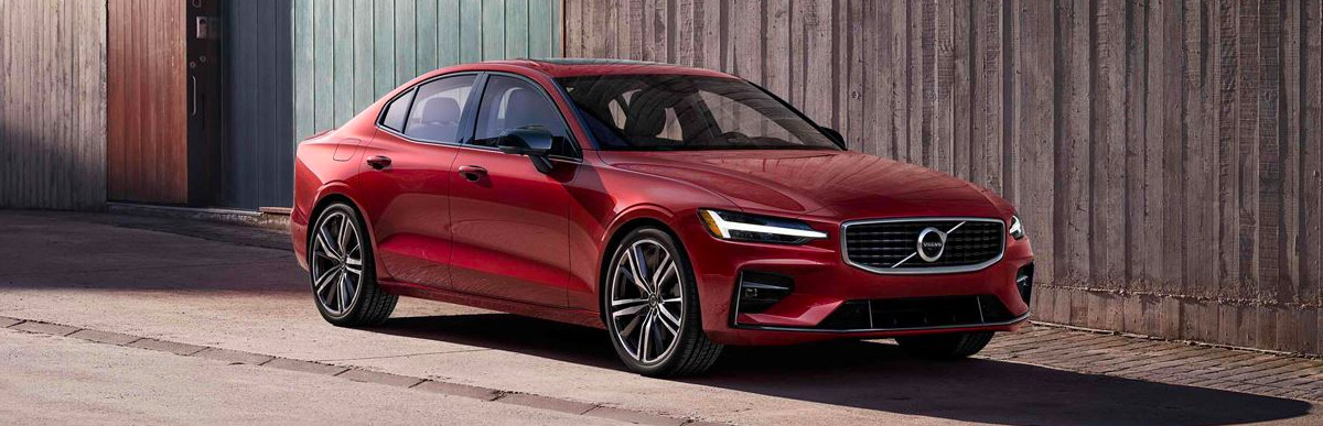 the New 2019 Volvo S60