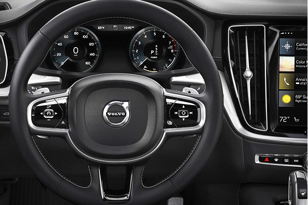 the New 2019 Volvo S60 Interior