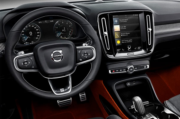 2019 Volvo XC40 Interior Features & Technology