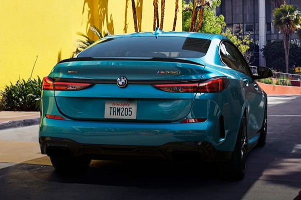 2 Series Gran Coupe: rear view