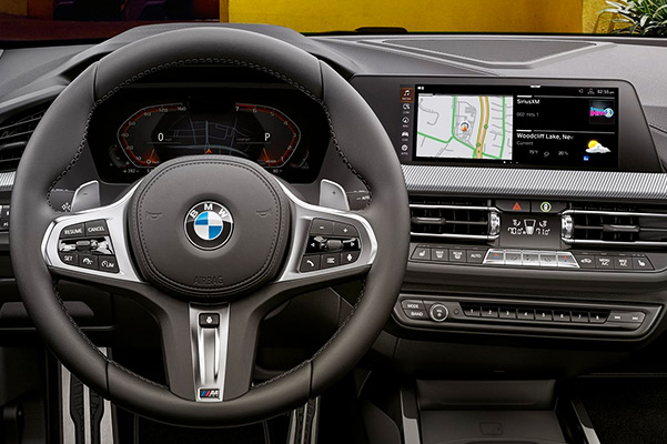 2 Series Gran Coupe: interior dashboard and steering wheel