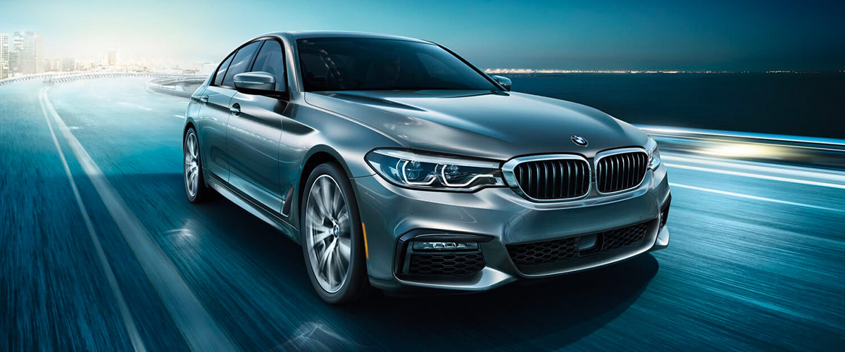 2020 BMW 5 Series header