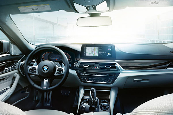 2020 BMW 5 Series Interior & Technology Features