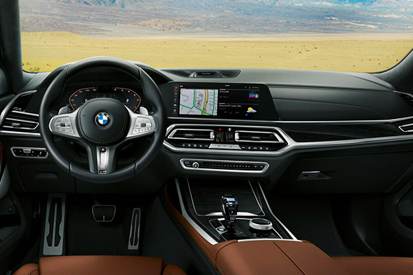 2020 BMW X7 Interior Features & Technology