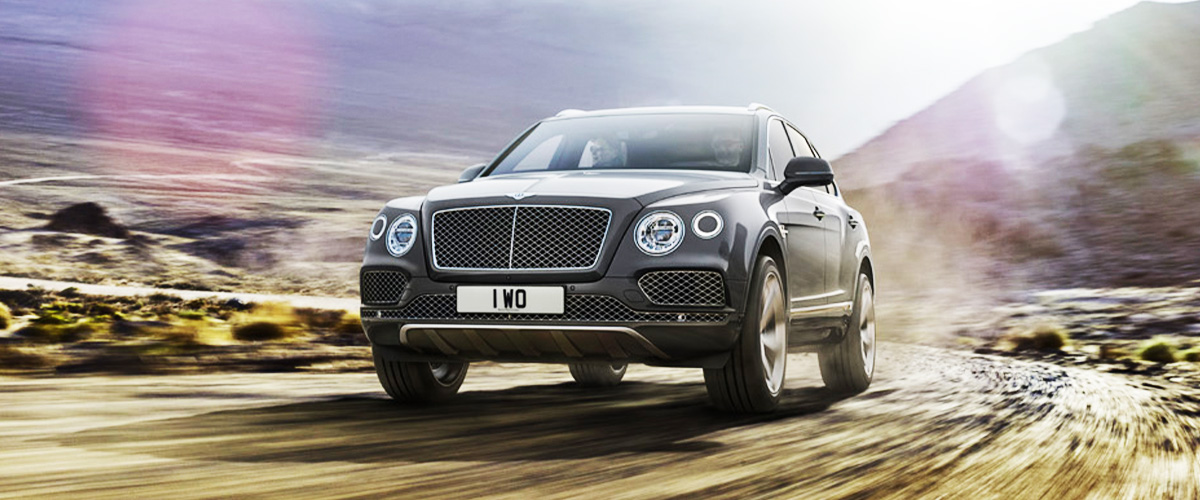 2020 Bentley Bentayga  Header