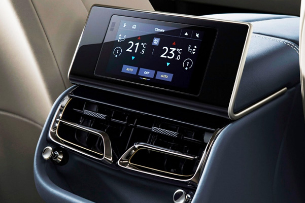 2020 Bentley Flying Spur Temperature Control Panel