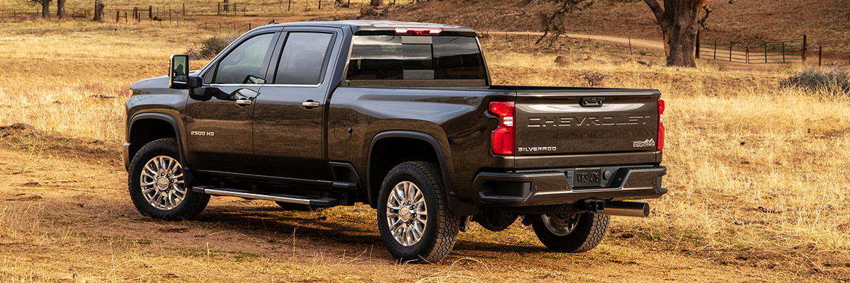 2020 Chevy Silverado HD footer