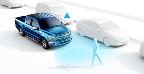 Pre-Collision Assist with Automatic Emergency Braking shown