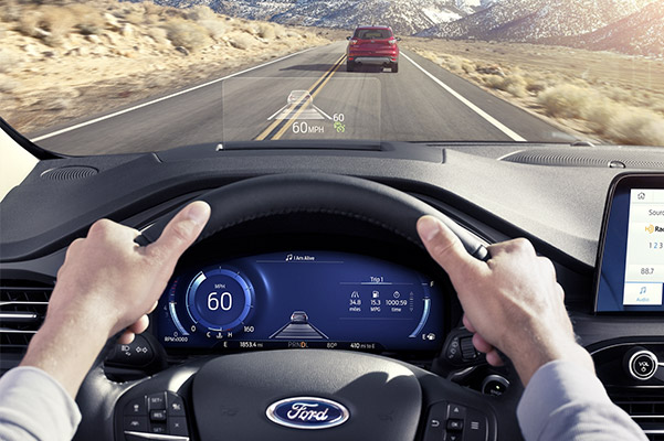 2020 Ford Escape Interior & Technology