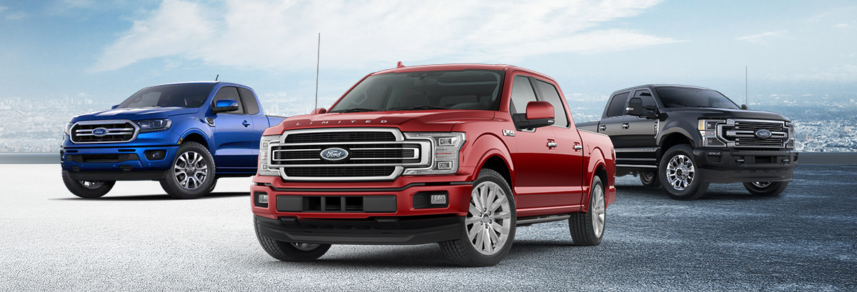 Buy or Lease a New 2020 Ford Truck near Worcester, MA Header