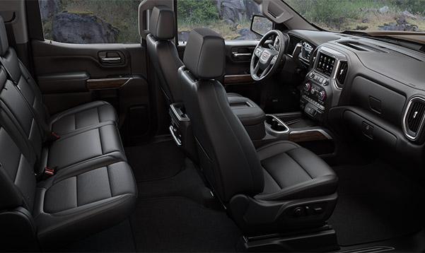 2020 GMC Sierra 1500 Interior & Technology