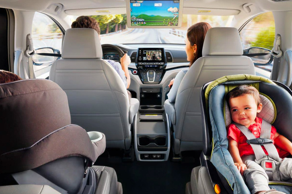 2020 Honda Odyssey Interior Features & Technology
