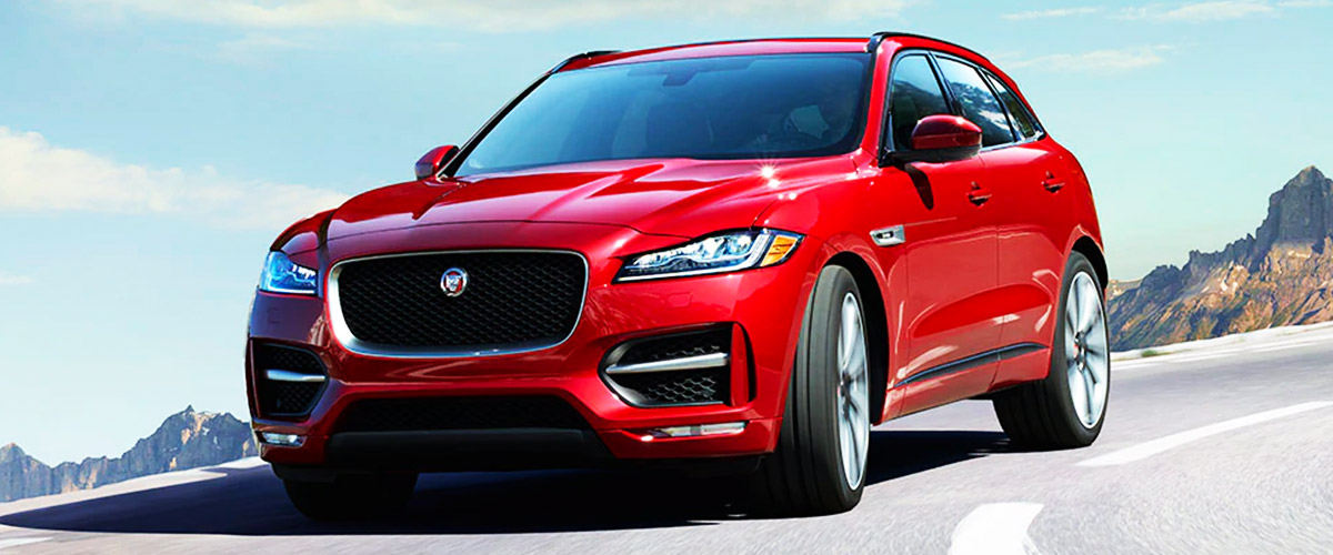 2020 JAGUAR F-PACE Header