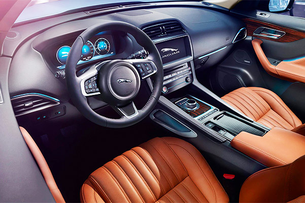 2020 Jaguar F-PACE Interior & Technology