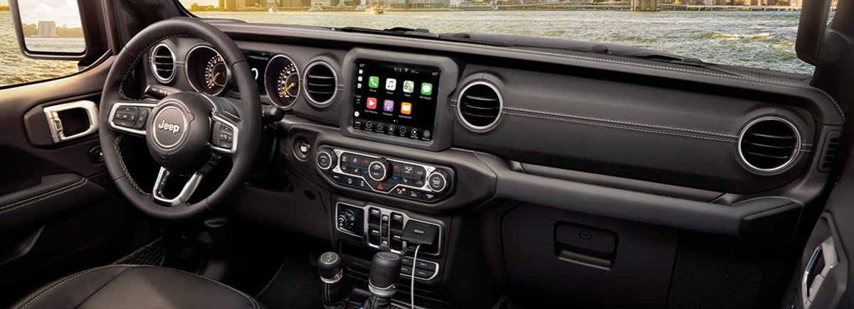 2020 Jeep Gladiator Interior & Tech Features