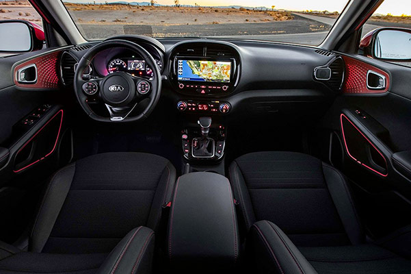 2020 Kia Soul Interior Features & Entertainment