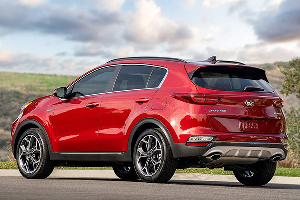 2020 Kia Sportage Engine Specs & Safety