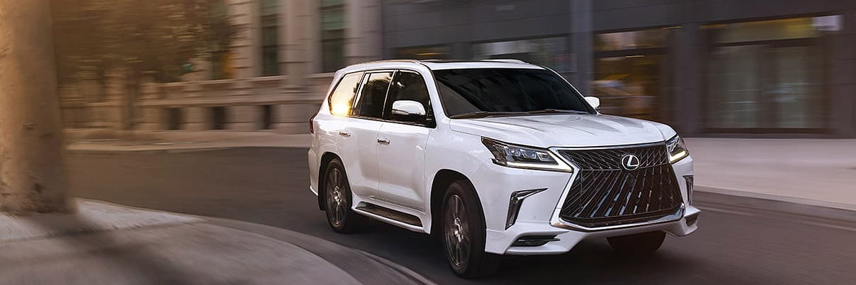 2020 Lexus LX Specs & Features