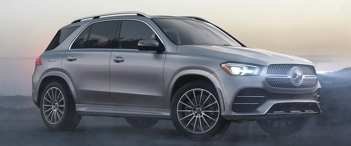 THE ALL-NEW 2020 GLE SUV header