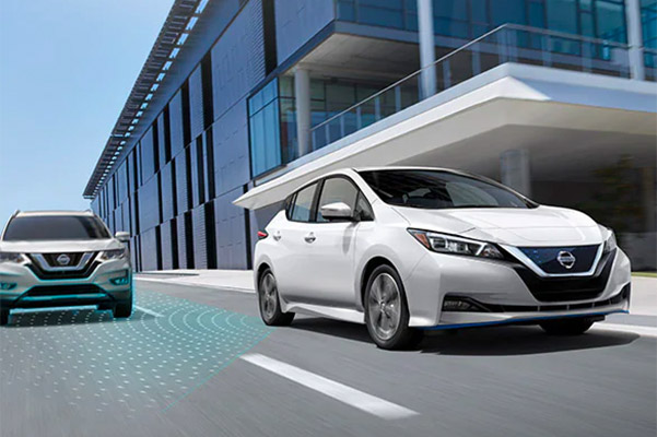 2020 NISSAN LEAF® Intelligent Blind Spot Intervention