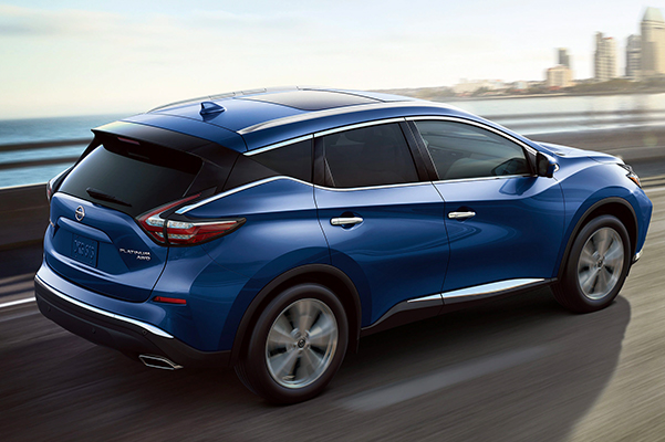2020 Nissan Murano Specs & Safety