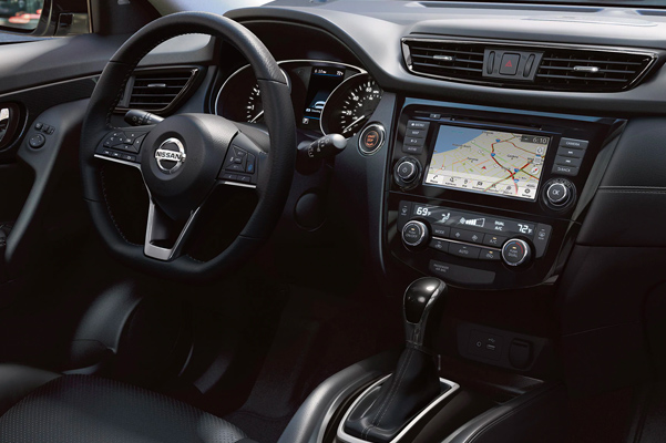 2020 Nissan Rogue Interior & Technology