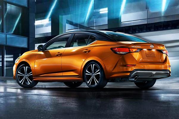2020 Nissan Sentra Back