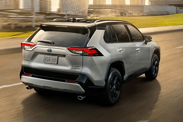 2020 Toyota RAV4 Interior & Technology
