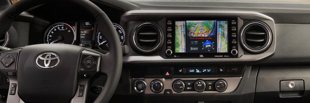 2020 Toyota Tacoma Interior Technology & Safety Systems