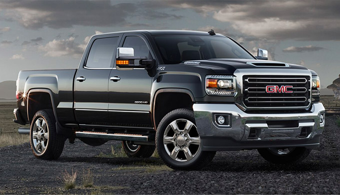 New 2020 GMC Sierra Heavy Duty exterior