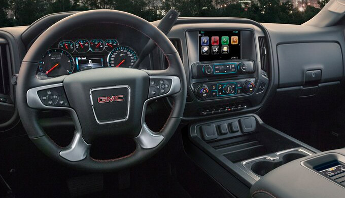 New 2020 GMC Sierra Heavy Duty interior
