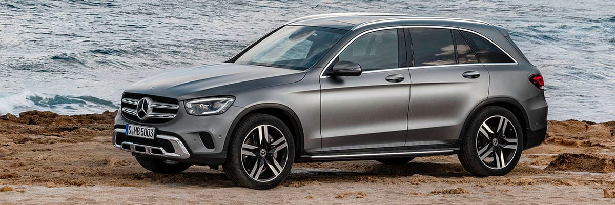 The 2020 GLC SUV footer