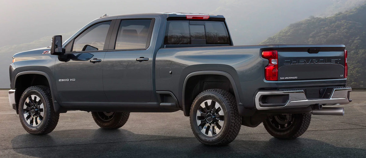 2020 Chevrolet Silverado HD Interior & Technology Features