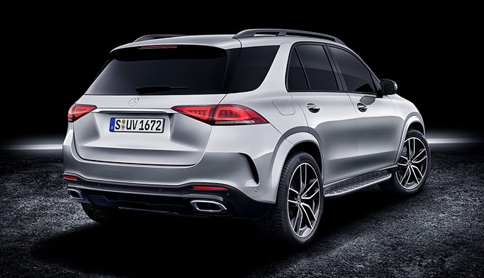 The 2020 GLE SUV