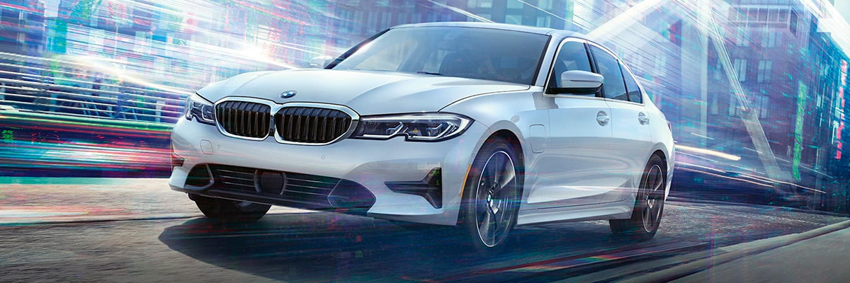 2021 BMW 3 SERIES SEDAN driving on road