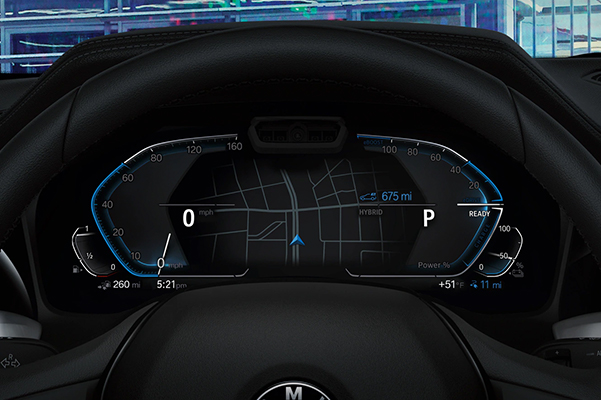 2021 BMW 3 SERIES SEDAN heads up display