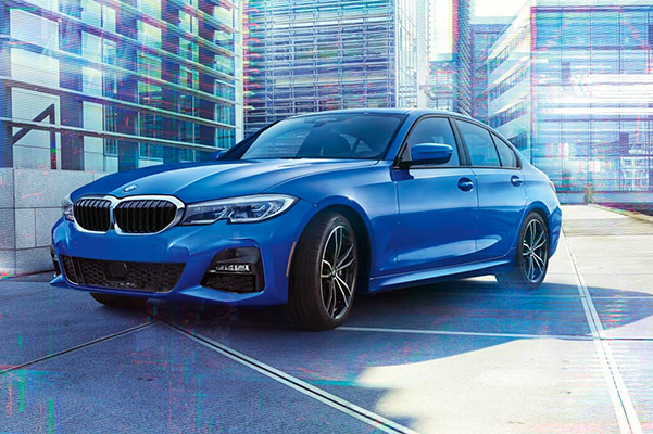 2021 BMW 3 SERIES SEDAN parked in lot