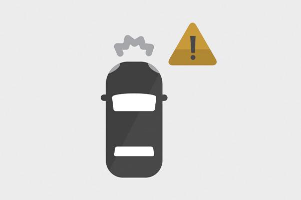 Forward Collision Alert Icon