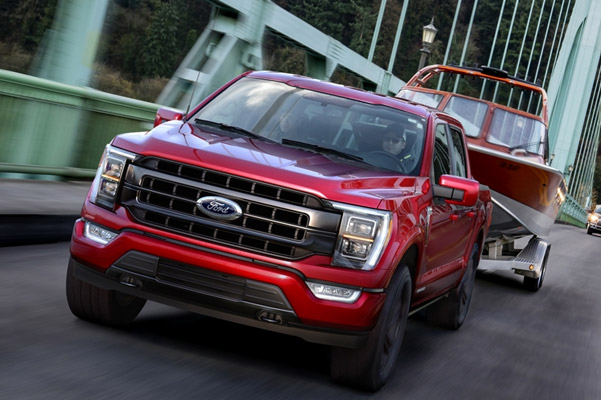 Exterior of Ford F-150
