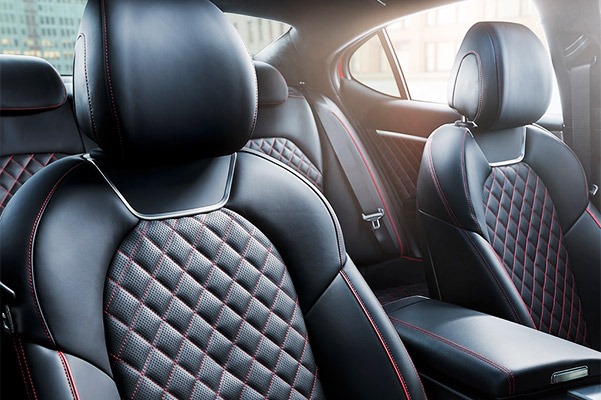 2021 Genesis G70 quilted seat