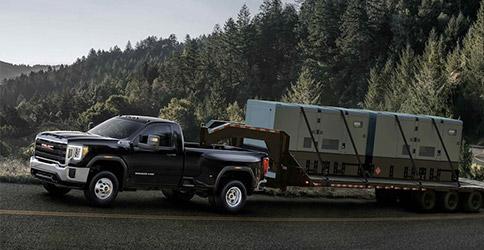 2021 GMC Sierra 2500HD towing capability