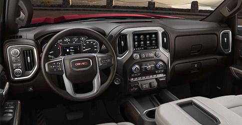 2021 GMC Sierra 2500HD interior dash