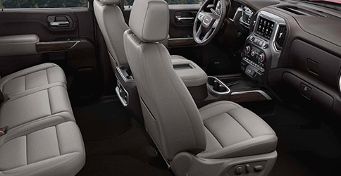 2021 GMC Sierra 2500HD interior seating