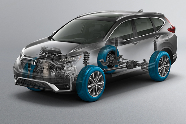 2021 Honda CR-V X-Ray cutout