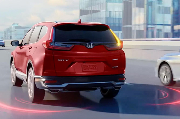 2021 Honda CR-V blind spot detection