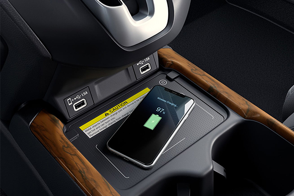 2021 Honda CR-V wireless charging